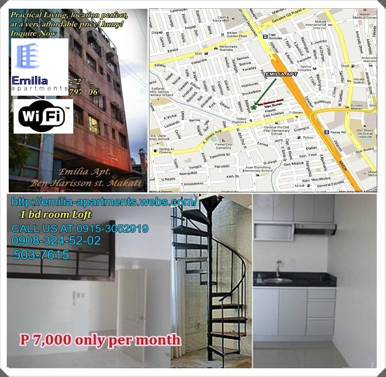 Affordable Apartment For Rent In Makati